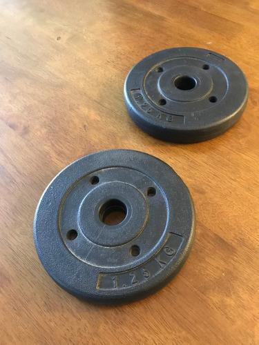 pesas revestidas en pvc | acepto m. pago | env. todo el país