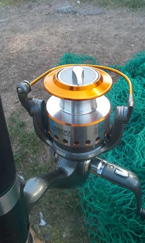 pesca . tramallos redes y cañas con reel
