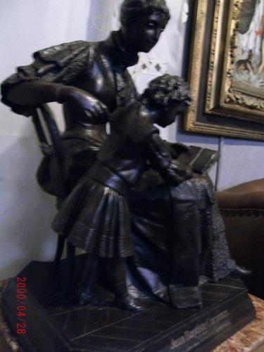petit bronce francés 56 cm x 35 cm.