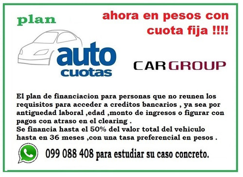 peugeot 205 junior 100% financiado solo $ 3990 por mes