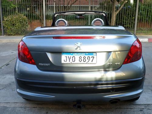 peugeot 207 1.6 coupe turbo 150 cv cabrio 2009