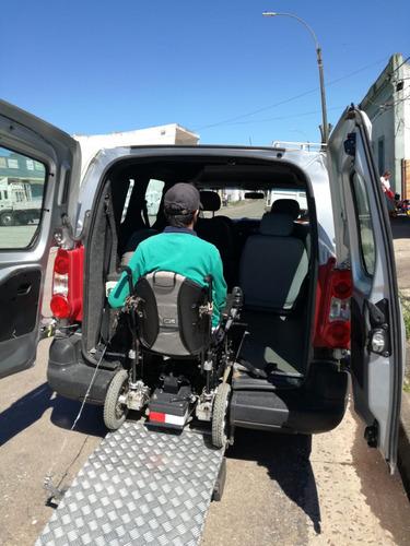 peugeot partner 1.6 hdi confort con rampa para silla
