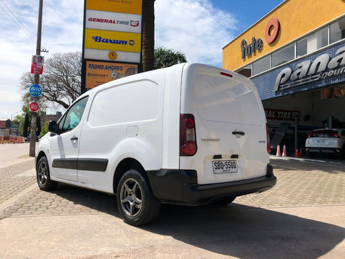 peugeot partner b9 2013 1.6 nafta furgon unico dueño impeca