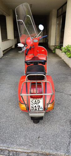 piaggio vespa italiana 1982 72 mil km unico dueño impecable