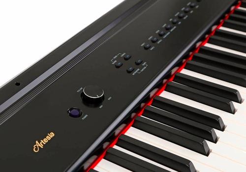piano digital artesia pa88h - 88 teclas - tecla pesada
