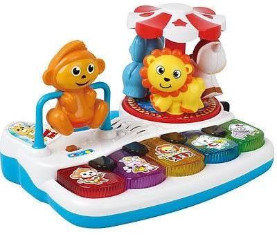 piano músical con actividades y luces - bebés y niños