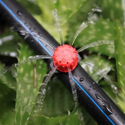 pico regador aspersor con t  cultivo micro riego gotero  emn