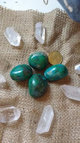 piedra energética crisocola, turquesa peruana.
