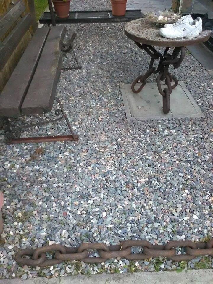 Piedra gris para jard n 80 00 en mercado libre for Bolsa de piedra para jardin