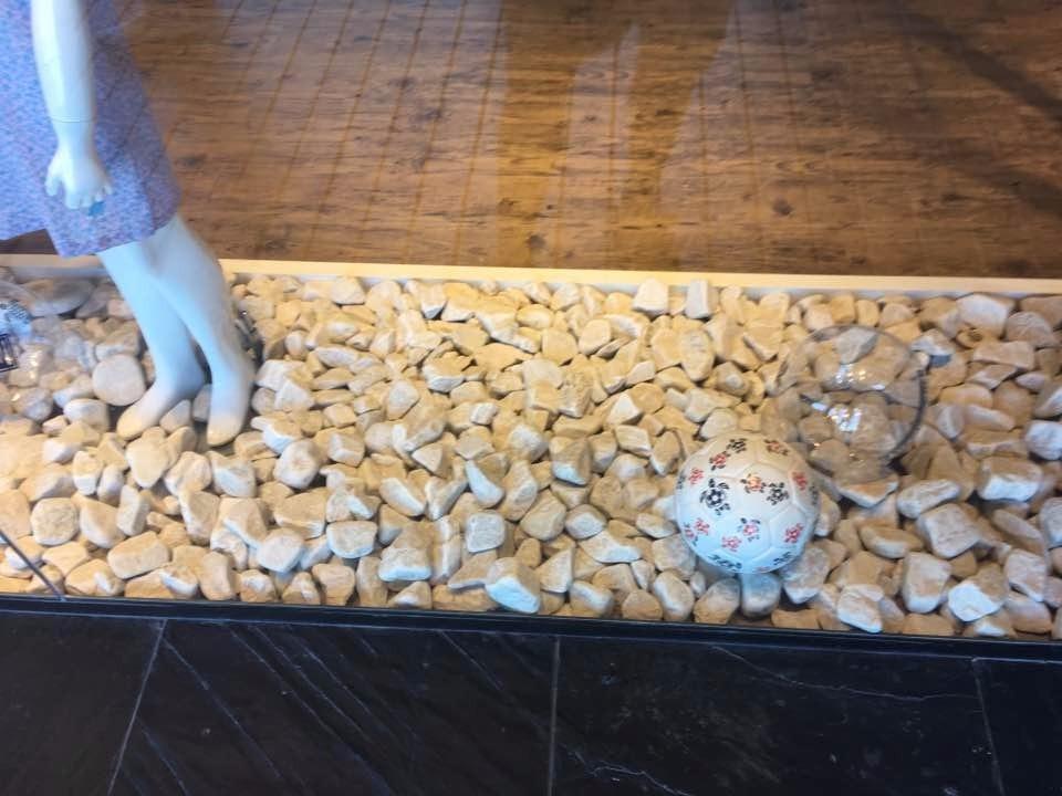piedra natural canto rodado blanco 828 00 en mercado libre