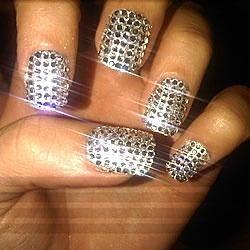 piedras fantasia decorativas para uñas de colores nail art