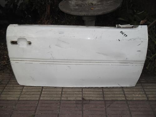 piel exterior de puerta derecha de v w gol 2,de 2 puertas.