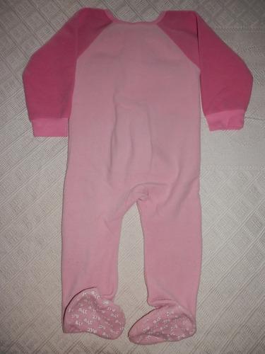 pijama enterito polar-dormilón-talle 4-niña 2-3 años