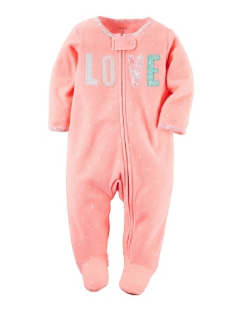 340d94ee9d3 pijama micropolar carter s ropa bebé y niña de rn a 9 meses. Cargando zoom.