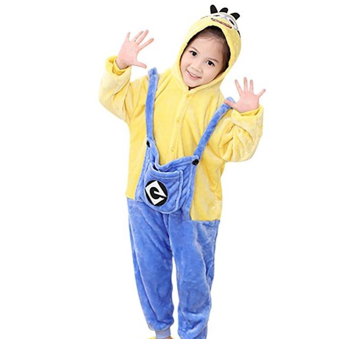 9d2c37743 Pijamas Niños Niñas. Minions 3 A 12 Años. Felpa. Abrigados -   1.300 ...