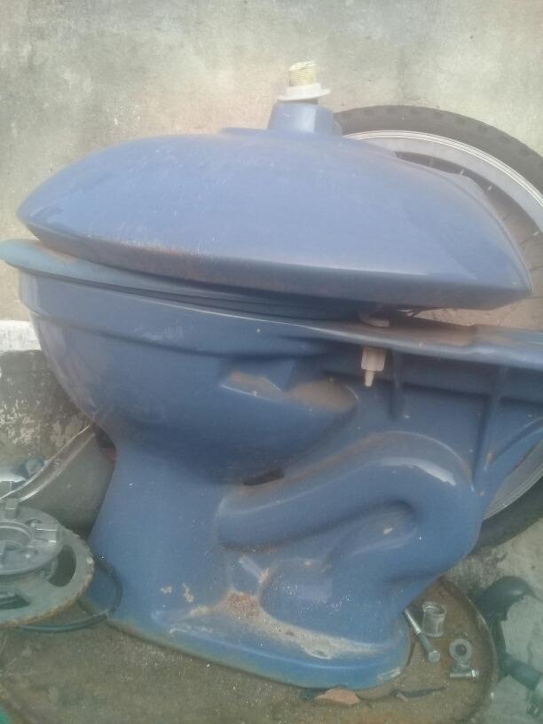 Pileta De Baño Mas Guater Color Azul - $ 2.000,00 en ...
