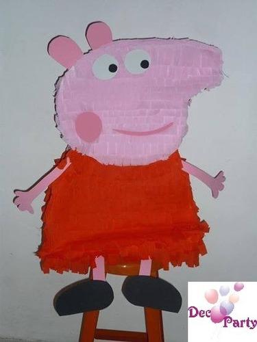 piñata pappa pig. la cerdita.