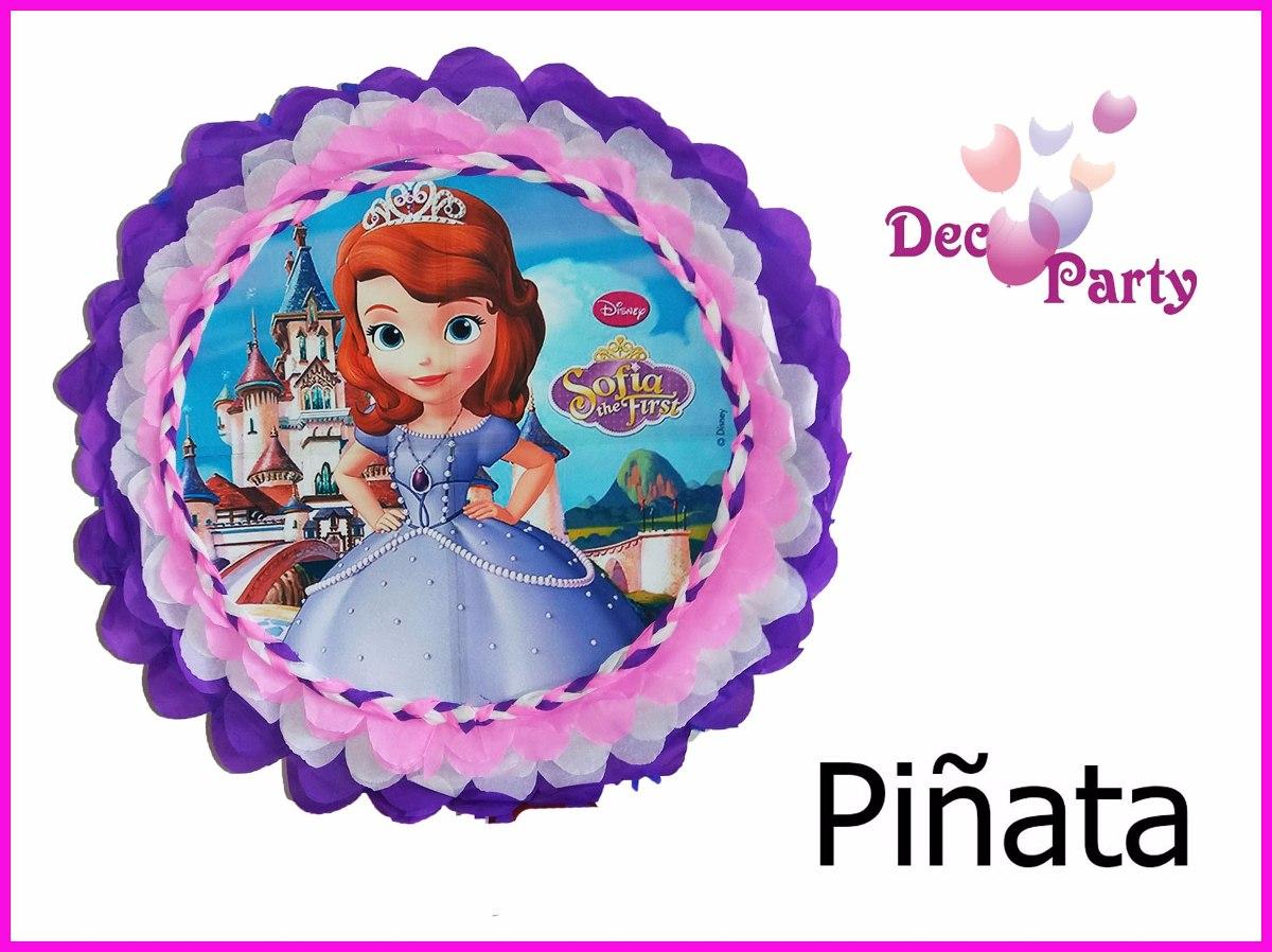 97df1daa0 Piñata Princesa Sofía -   650
