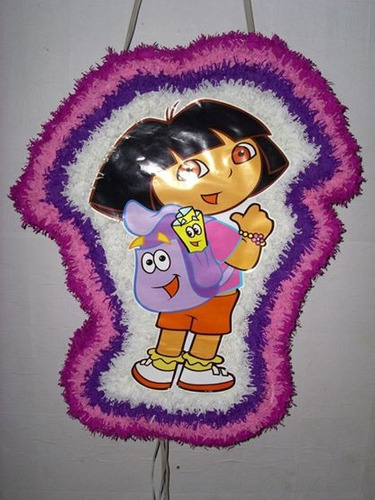 piñatas con forma  del personaje tipo 3d como las mexicanas