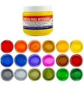 pintura acrilica para artesania!!