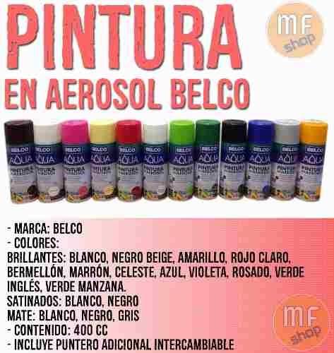pintura aerosol int