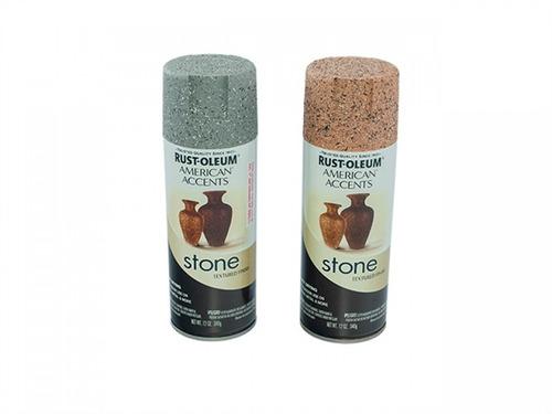 pintura aerosol piedra gris aa 340gr rust oleum