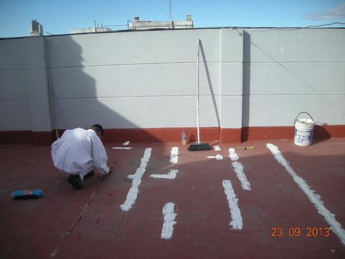 pintura altura exterior impermeabilizacion medianeras frente