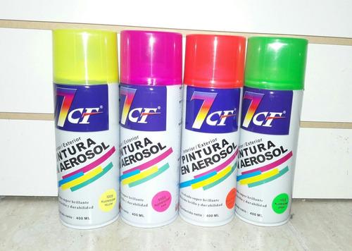 pintura en spray para motos fluor