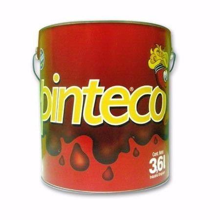 pintura esmalte sintético 1 litro negro mate