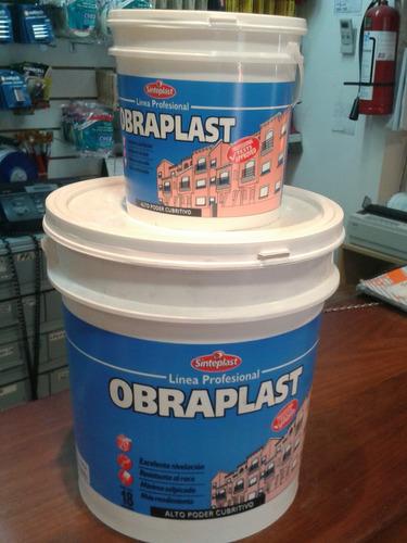 pintura latex interior/ exter. a/hong. 18 lts + 3.6  oferta