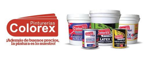pintura membrana líquida colorex eco techos y muros 20 kgs