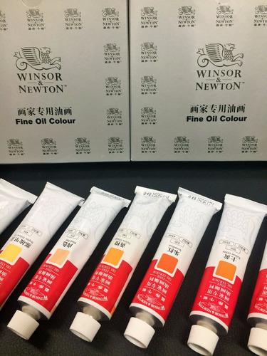 pintura oleo winsor&newton