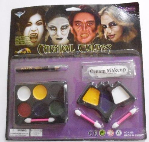 pintura para cara con crema limpiadora