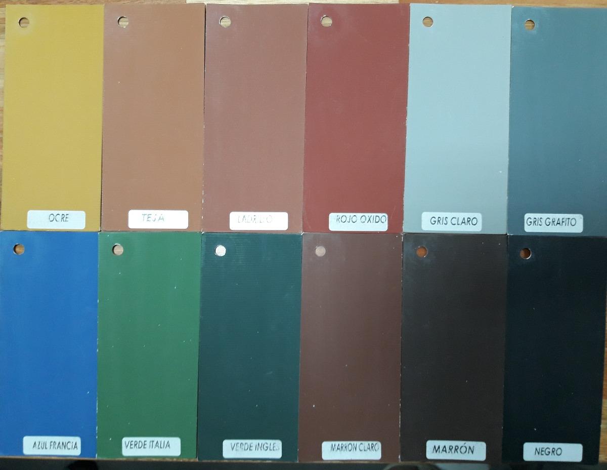 Pintura Para Piso Exterior Interior Colores Varios 4 Lt