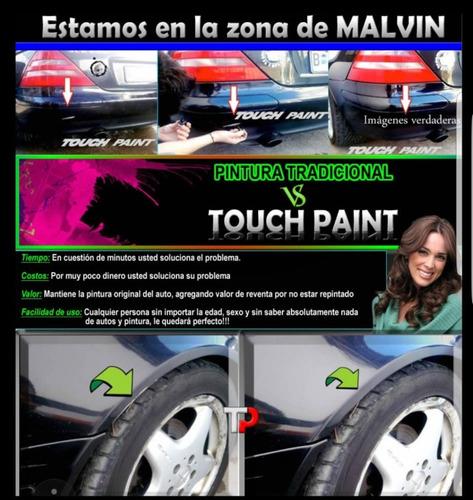 pintura para rayones y retokes  en su automóvil. touch paint
