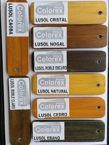 pintura protector madera