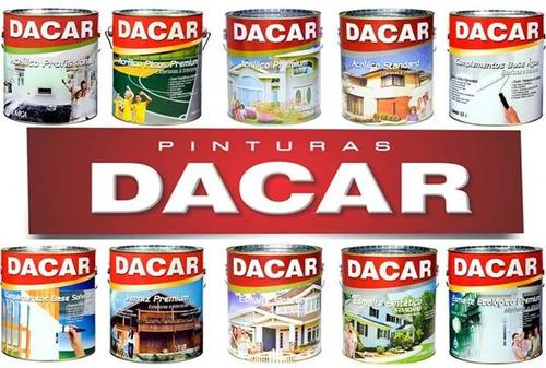 pintura sellador pigmentado acrílico dacar premium 18l