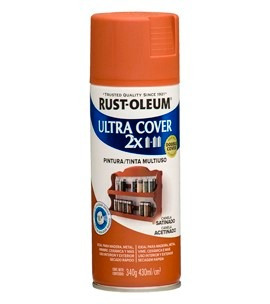 pintura spray aerosol rust-oleum canela satinado 430ml