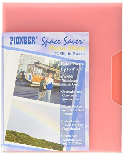 pioneer photo albums cf 2 72 pocket poly cover space