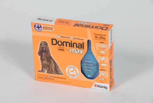 pipeta dominal max para perros de 10-25 kg