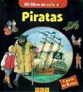 piratas. mi libro de colores
