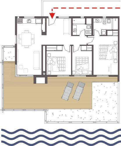 piriapolis apartamento frente al mar amarras reales 7 person