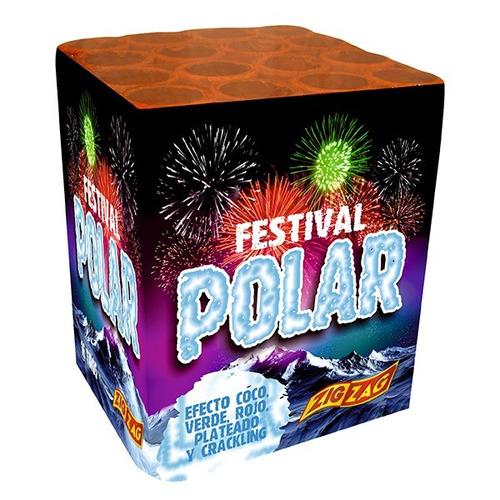 pirotecnia - festival polar 16 tiros - 1 unidad zig zag