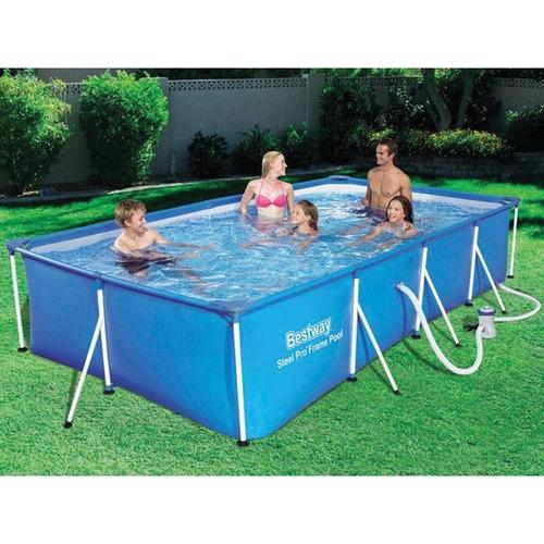 piscina estructural 5700l bomba y filtro 56424 - el clon