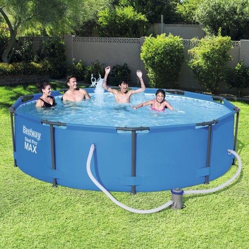 piscina estructural bestway 4678 litros, con bomba filtrado
