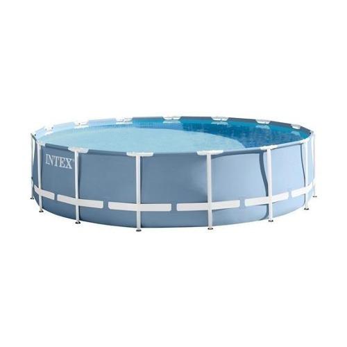 piscina estructural intex 16805 lt completa, bomba, escalera