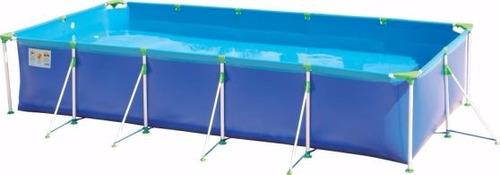 piscina estructural reforzada 7600lts con filtro, mor 51286