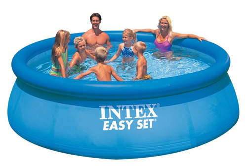piscina inflable intex 10681l c/bomba y filtro facil armado