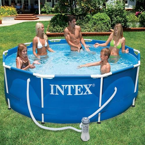 piscina intex 4500lts 305 x 76 bomba y filtro la mejor