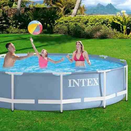 piscina intex 6503 litros + bomba filtro copacabana oferta